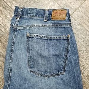 cremieux Jean's 36x34 straight cut denim jean